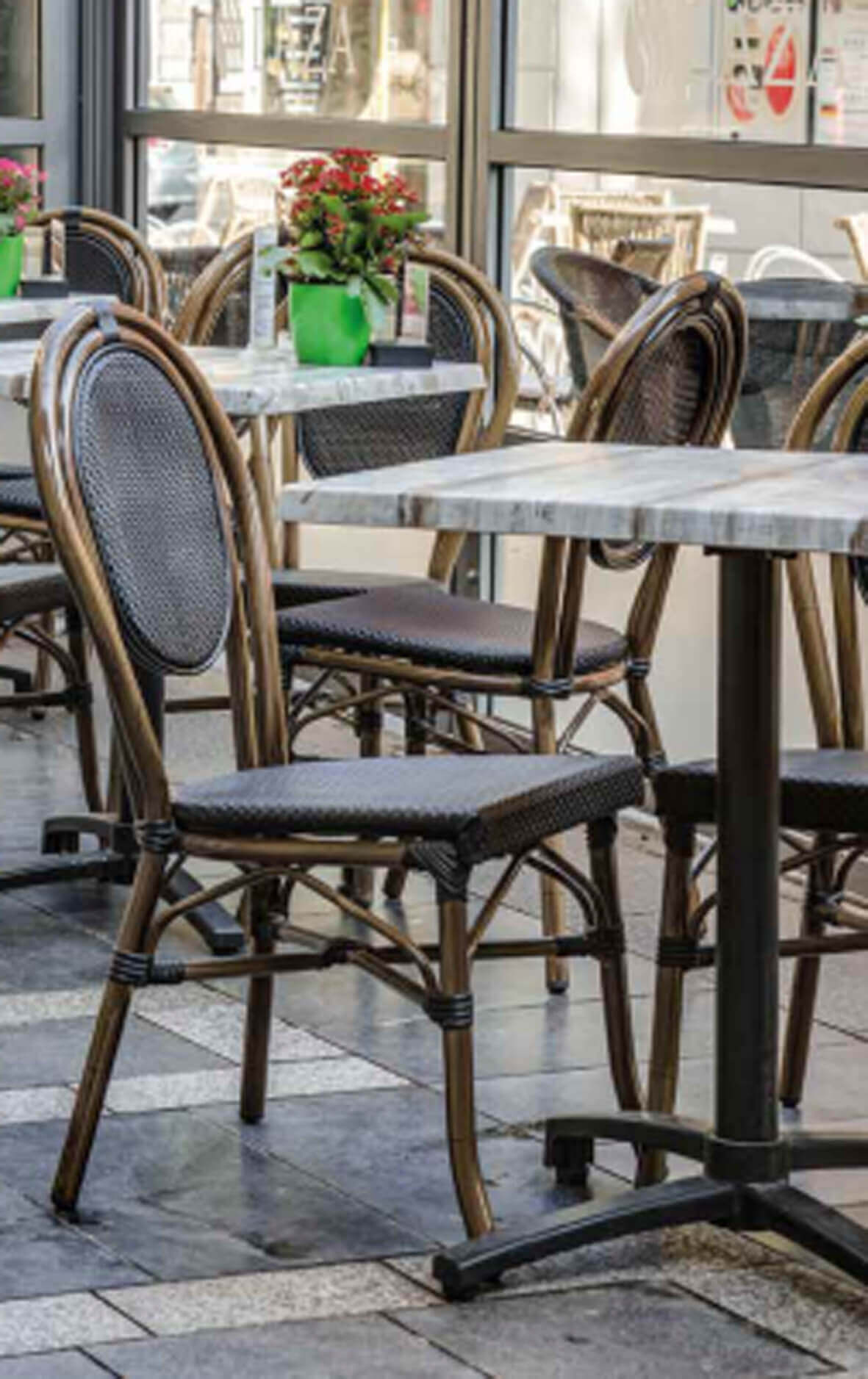 destymob societe de creation mobilier de terrasse chaise aluminium. Black Bedroom Furniture Sets. Home Design Ideas