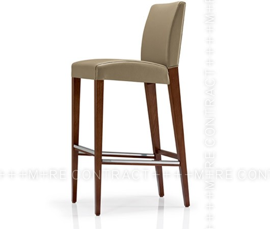 Tabouret haut bois stunning tabouret bois massif with for Chaise quercus